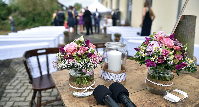 HOCHZEITSKONZEPTE - Hochzeiten bei Euch zu Hause